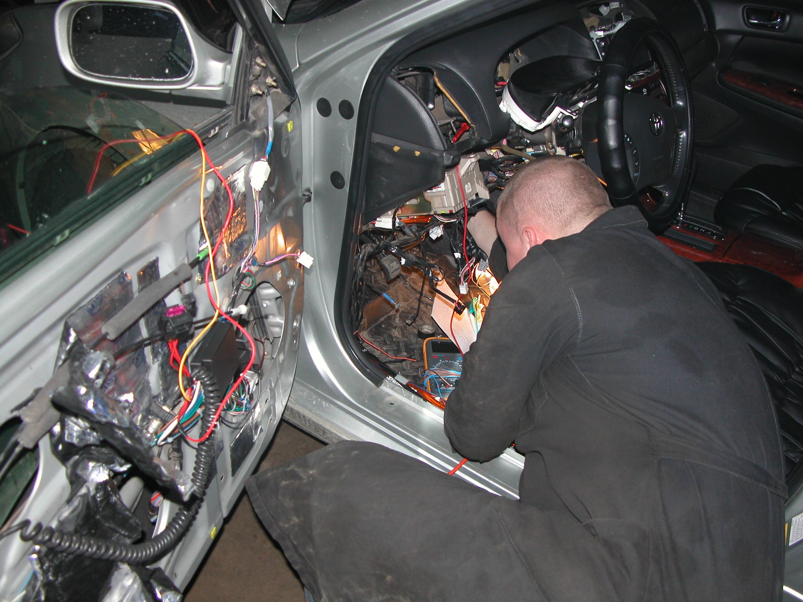 Ремонт электропроводки в автомобиле своими руками